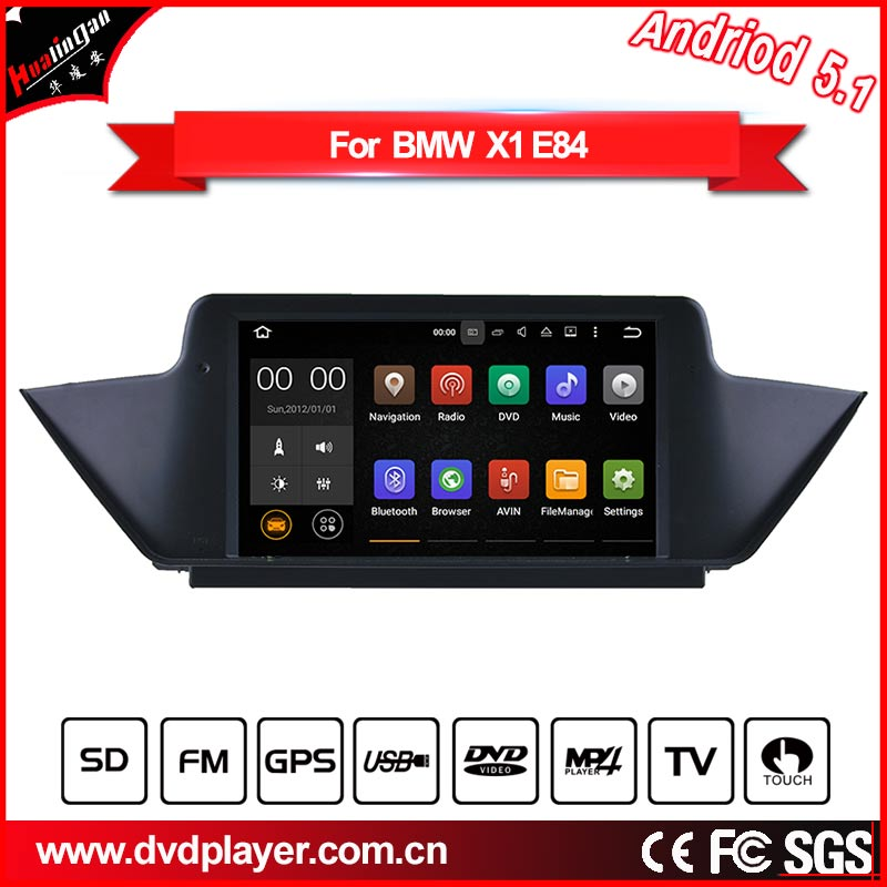 auto dvd player android phone connections for bmw x1 e84 3G Internet(China (Mainland))