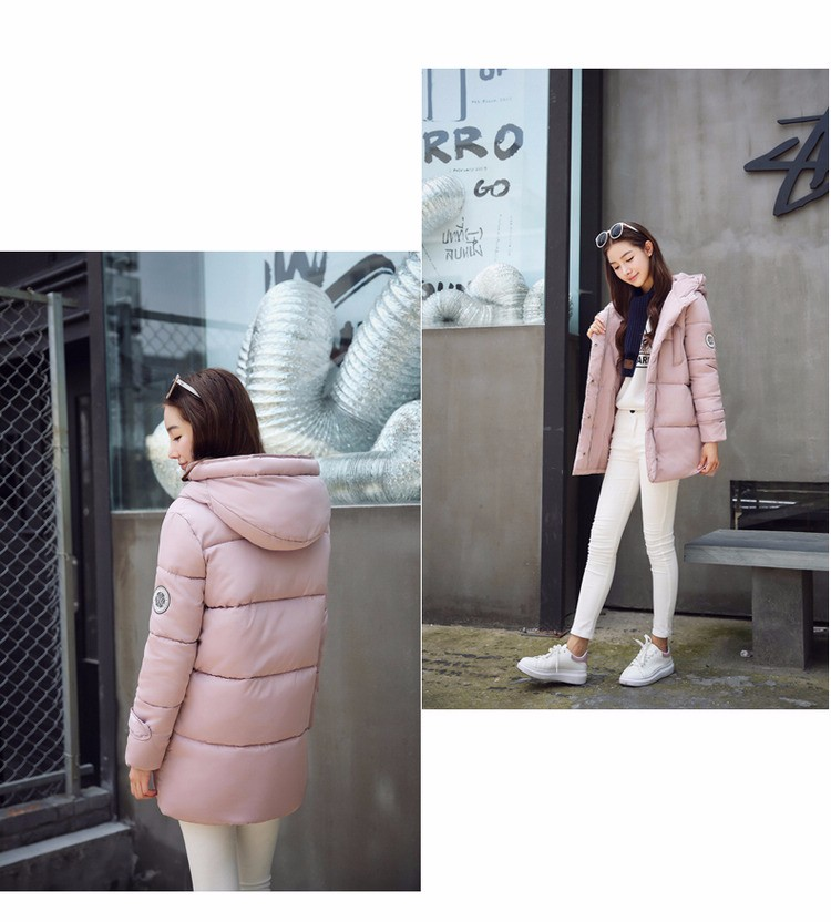 wadded jacket female 2016 new winter jacket women down cotton jacket slim parkas ladies winter coat