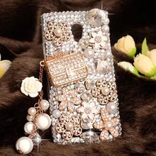2016 New Luxury 3D Bling bling Rhinestone Clear hard plastic mobile Phone Cover Case for Meizu MX5 mx 5 5.5″ Cases