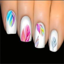 2014 New beautiful women's Feature Nail Art Water Transfer Decal Sticker Nail Art tip decoration free shipping