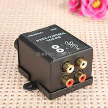 Car Home Bass Remote Level Amplifier Controller RCA Stereo Line Level Volume Control Booster Free Shipping(China (Mainland))