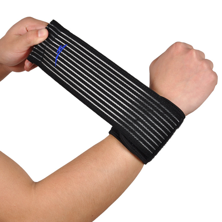 2015 New Adjustable Wristbands Wrist Support Bracers Elastic Stretchy Band Gym Strap Safety Guard Wrist Protector(China (Mainland))