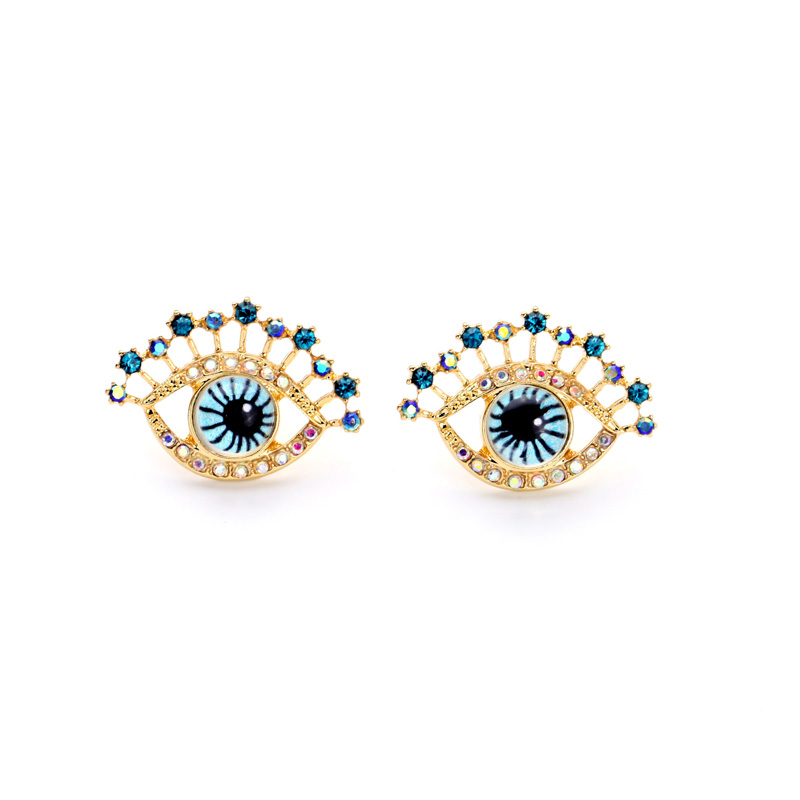 2016 fashion personalized pierced ear jewelry gold plated