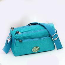 Lightweight Waterproof Handbags Women 2016 Sewing Thread Nylon Shoulder Bag Ms Messenger Bag Outddoor Casual Handbag Sac Femme