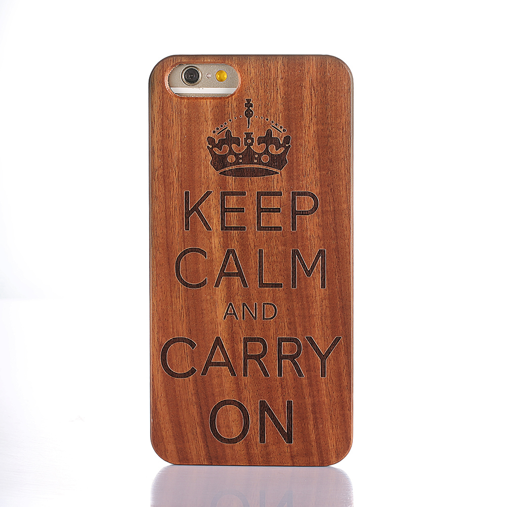 Luxury Wooden Wolf Totem Pattern Mobile Phone Case For iPhone 6/6plus/6s/6s plus(China (Mainland))