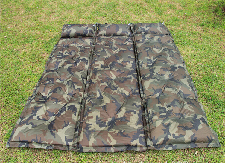 Подробнее о надувной коврик klymit insulated static v camo, цвет: камуфляж