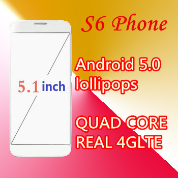 2015 New Free shipping S6 phone prefect MTK6592 Octa Core1920x1080 Android 5.0 3G smartphone 5.1 inch HDC S6 Screen Mobile Phone(China (Mainland))