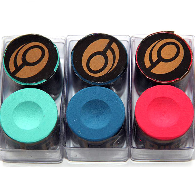 6 Pcs/lot Circular Billiard Chalk Billiards Snooker Accessories Red Blue Green Color 2016 China(China (Mainland))