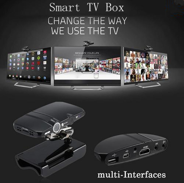 HD23 TV box 5.0MP and Mic Android TV camera HDMI 1080P 1GB/8GB android 4.4 skype Google Android TV box HD23 media player(China (Mainland))