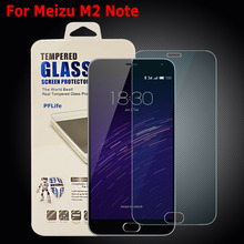 Meizu M2 Note Tempered Glass Thin HD 9H Hard Clear Premium Tempered Glass for Meizu M2 Note M2Note Screen Protector 2pcs/lot