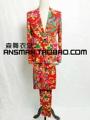 S 5XL 2015 Men s new fashion DG Retro Big flower suit singer costumes stage formal