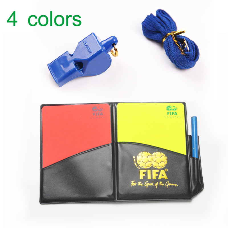 Gojoy Football Whistle with cards Soccer card survival Whistles apito Sports silbato Soccer referee whistle Wholesale(China (Mainland))