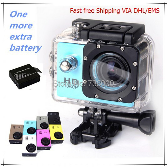 Fast VIA DHL/EMS,Action Camera Diving 30M Waterproof 1080P Full HD SJ4000 Underwater Sport Cameras DV  -  A Best Store store