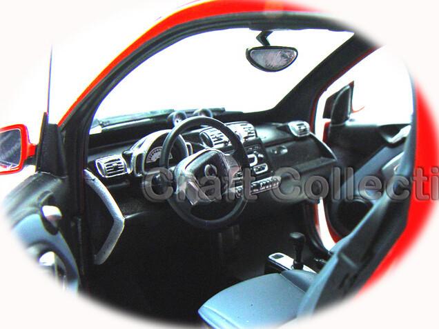 Minichamps 1:18 Sensible FORTWO Diecat Mini Automobile Uncommon Collections ECO Car