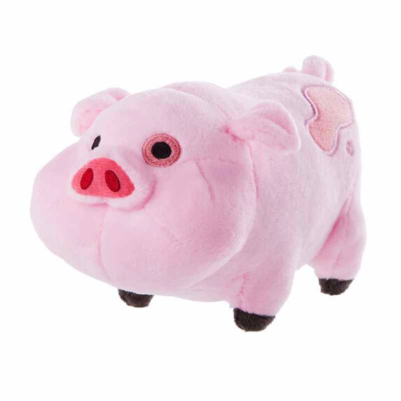HOT SALE Plush Doll For xmas Gift TOY 18CM SIZE pig PIG toy Gravity Falls Pink Pig Waddles Plush Toy mty459(China (Mainland))