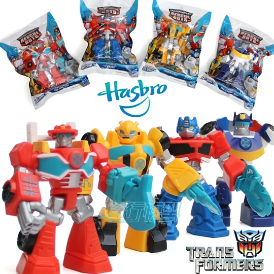 2015 Transformations Action Figures Robot Toys Playskool Rescue Bots 4pcs/set Children Toys Dolls Gifts for Boys Girls 10sets(China (Mainland))