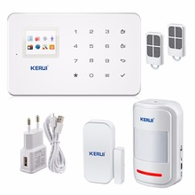 KERUI G18 Super Thin GSM Alarm Systems Android IOS APP Alarms Home Security System(China (Mainland))