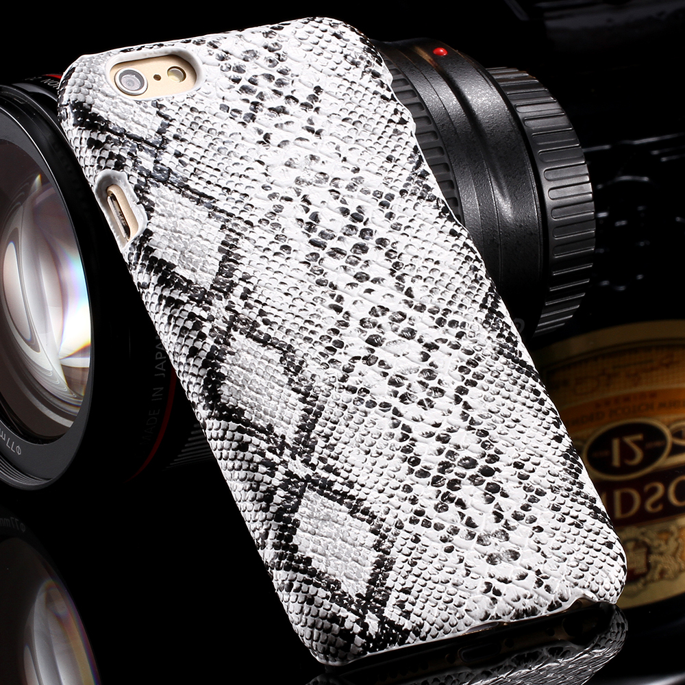 Risk-taking Cool Glossy Snake Skin Simulation Pattern Case for iPhone 6 Luxury Back Custom Phone Cover Accessories for iPhone 6(China (Mainland))