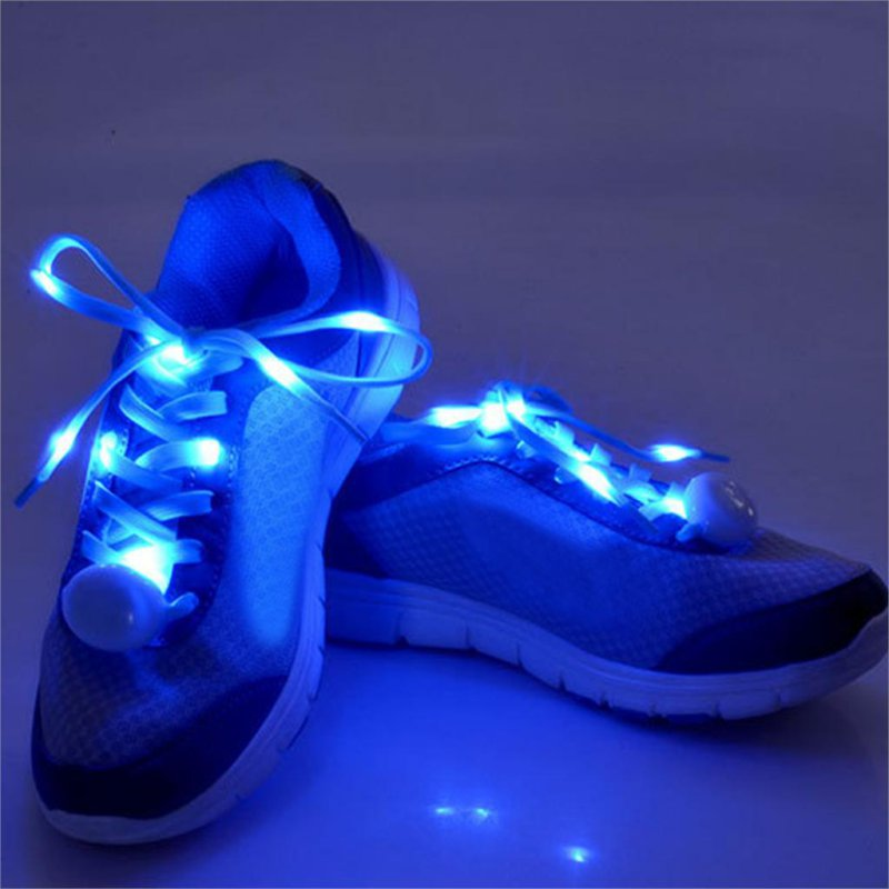 Luminous shoelace glow casual led shoes Strings Athletic Shoes Party Camping shoelaces for growing shoes canvas shoes 7 Color(China (Mainland))