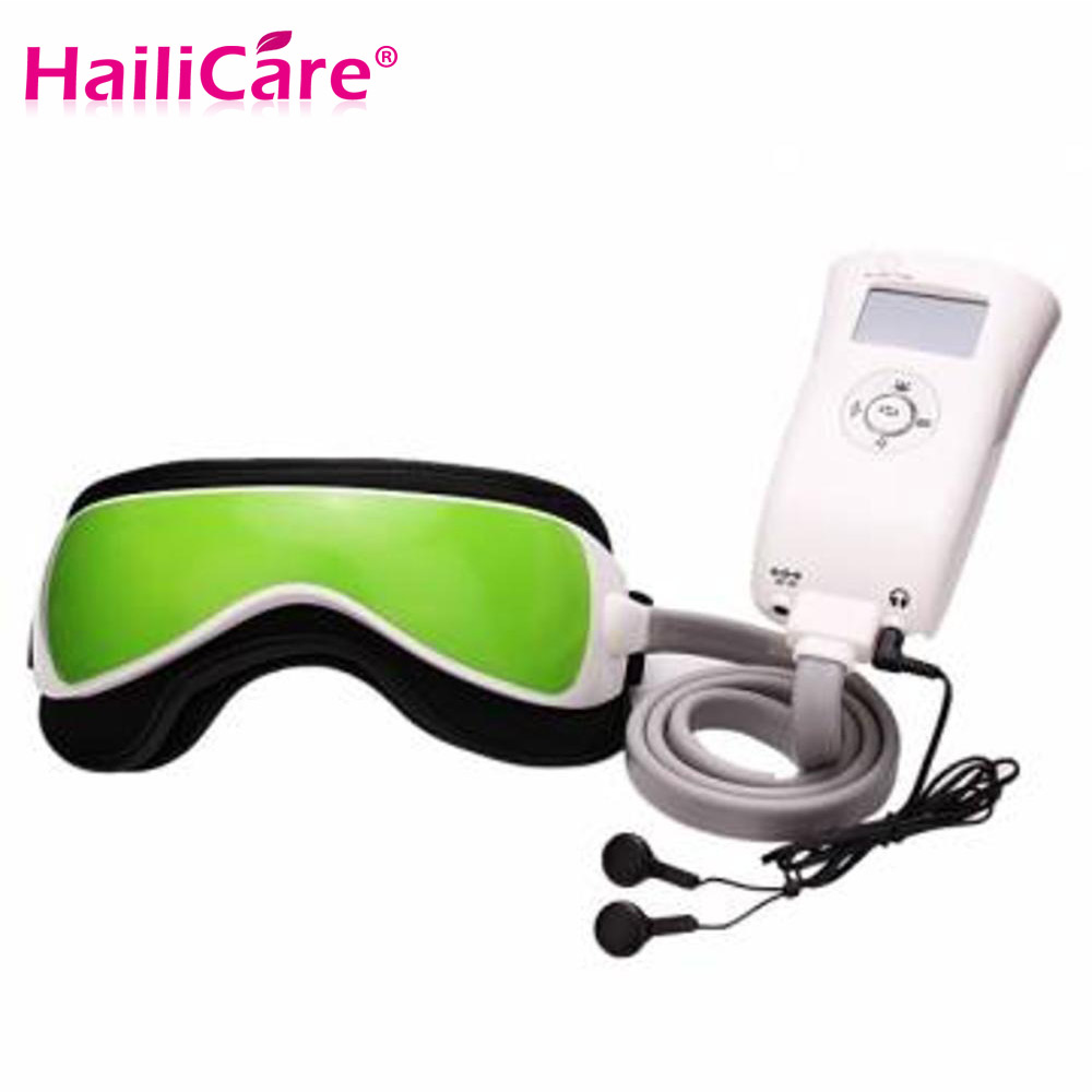 Eye Care Vibration Air pressure Infrared Heater Eye Massager Massage glasses Built-In Music and Time Setting