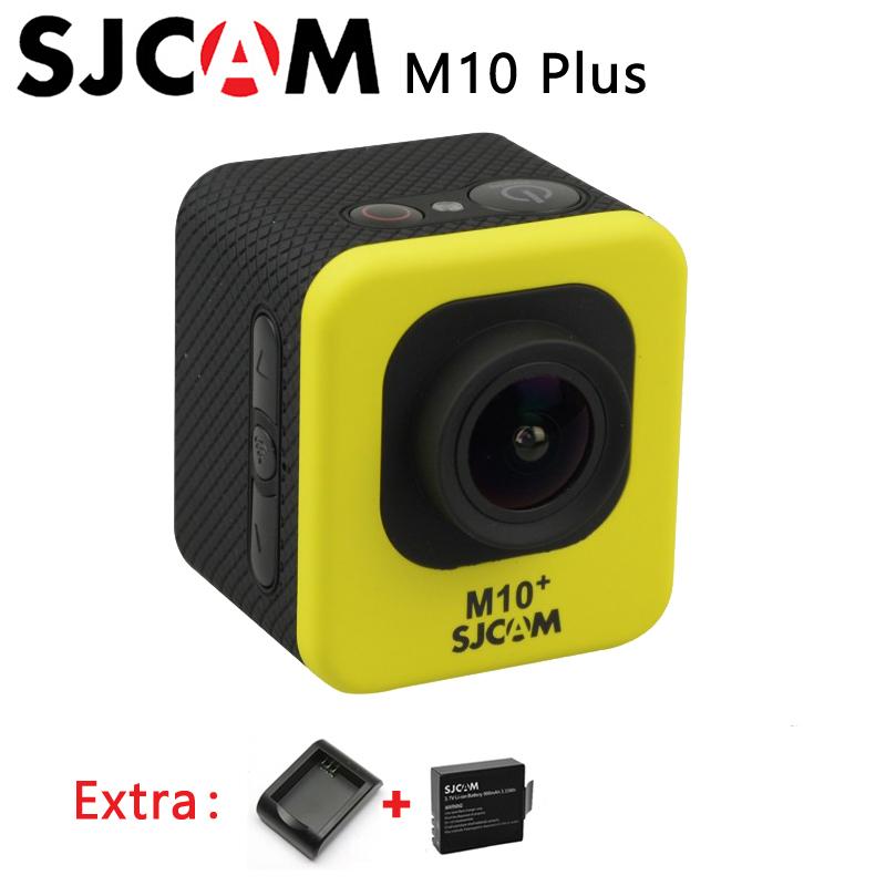 Original SJCAM M10+ M10 Plus 2K Resolution Novatek NTK96660 WiFi Waterproof 1080P Sport Action Camera+Extra 1pcs battery+charger(China (Mainland))