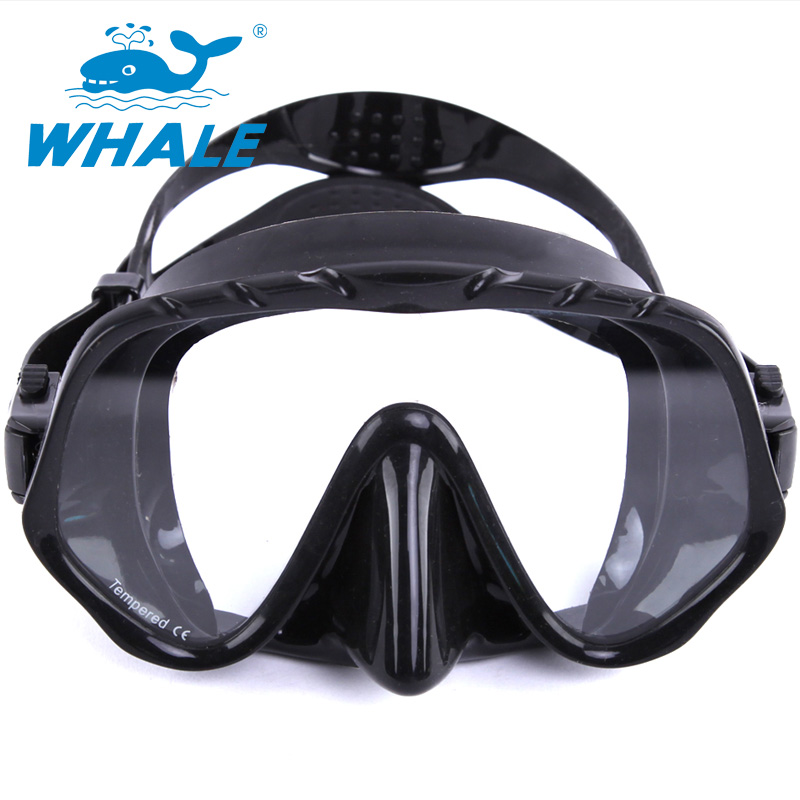 New Coming Whael Best Diving Mask Experience with Anti-fog and Anti-leak Technology MK1000(China (Mainland))