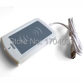 13.56MHz USB RFID NFC Proximity Sensor Reader Writer + 2 Pcs Rfid Card Ntag203 NFC tag + SDK + Software eReader V5.1(China (Mainland))