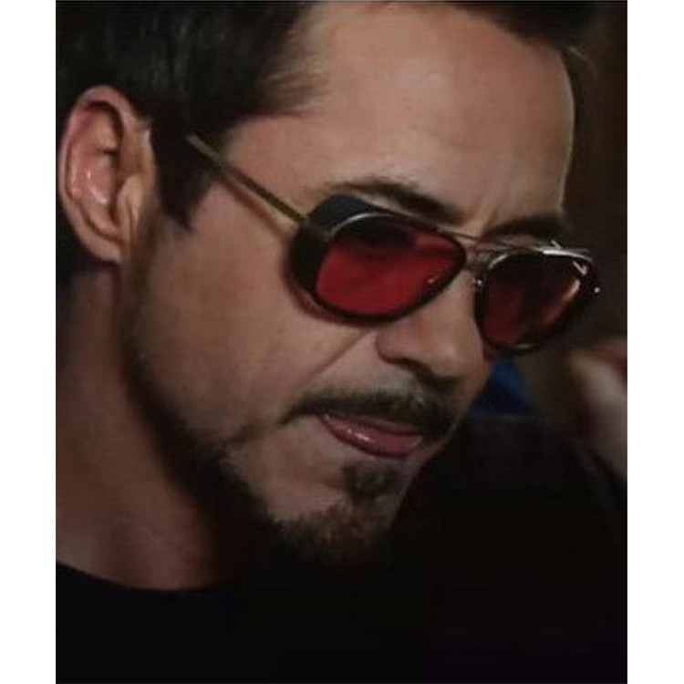Iron Man 3 Matsuda RAY TONY Sunglasses Men Rossi Coating Sungalss Man Vintage Brand Designer Sun