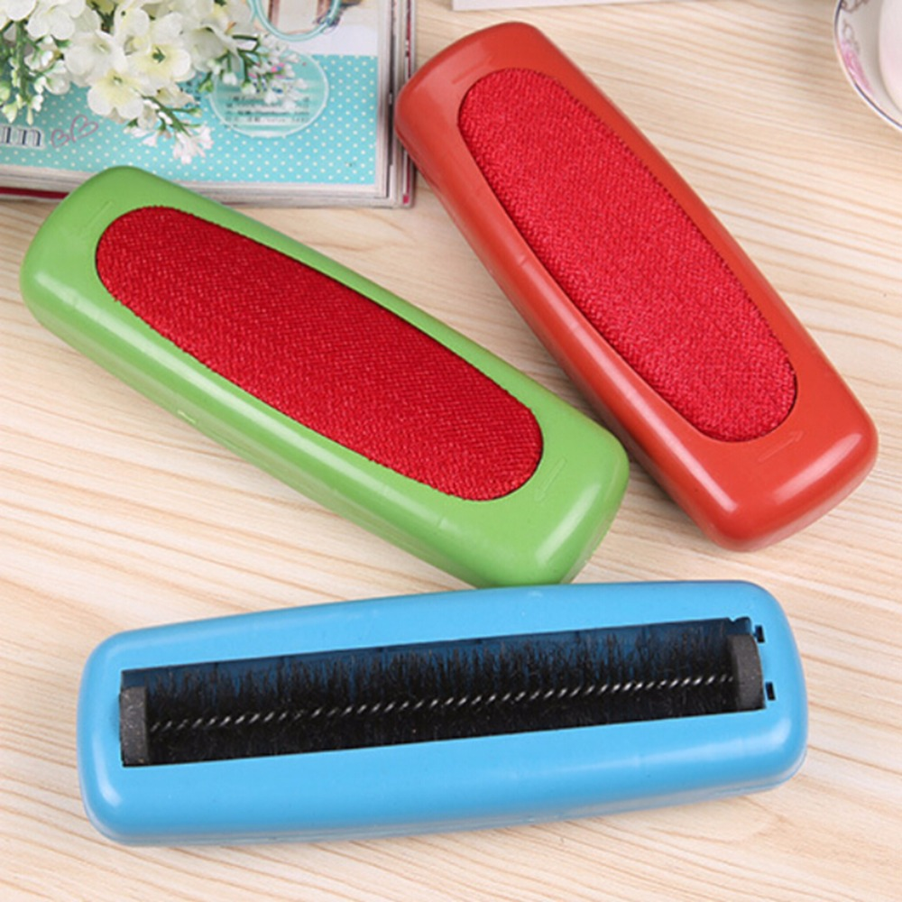 New Arrival High Quality Plastic Sweeper Carpet Table Single Brush Dirt Crumb Collector Cleaner Roller(China (Mainland))
