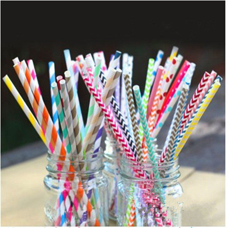 10paper drinking straws,Wedding decoration creative paper straw 80 colors optional - Yiwu Zilue Trading Co.,Ltd Store store