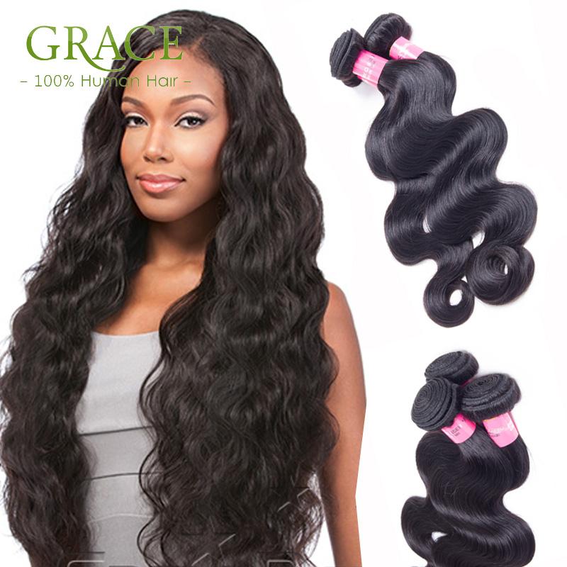 Beauty Forever Hair Mix Length 100% Human Hair Extensions Unprocessed Malaysian Virgin Hair Weave Bundles Malaysian Body Wave(China (Mainland))