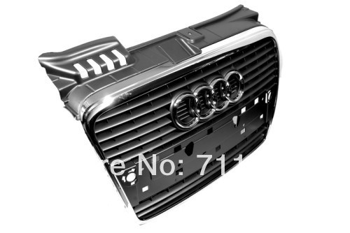 Stock Front Center Grille For Audi A4 B7(China (Mainland))