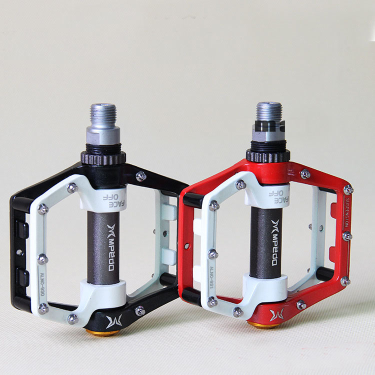Brand MPEDA Ultra-Light Mountain Bicycle Pedals Road Cycling Sealed Pedals Red Blue Black Green Aluminum Bicycle Pedals(China (Mainland))