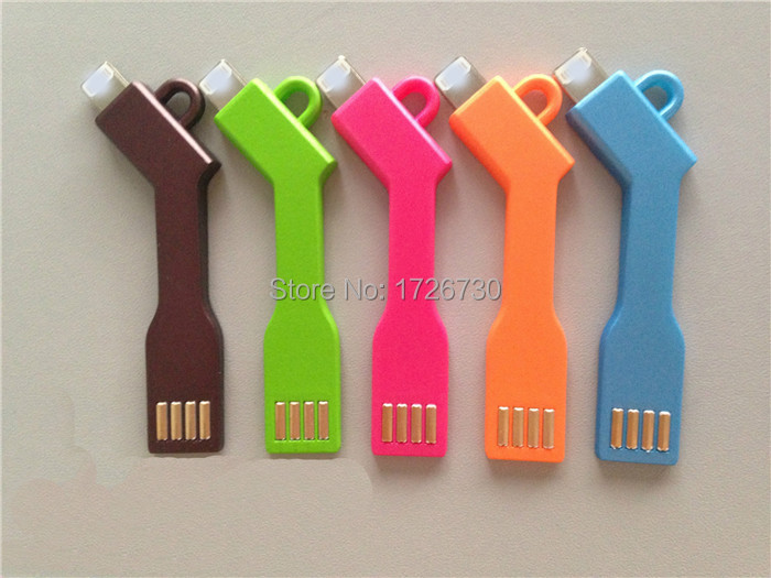 ChargeKey USB Charge Mobile phone Charge Key Sync Keychain Cable for iPhone 5 5C 5S 6 6 Plus Samsung HTC Moto Sony Lenovo Thl(China (Mainland))