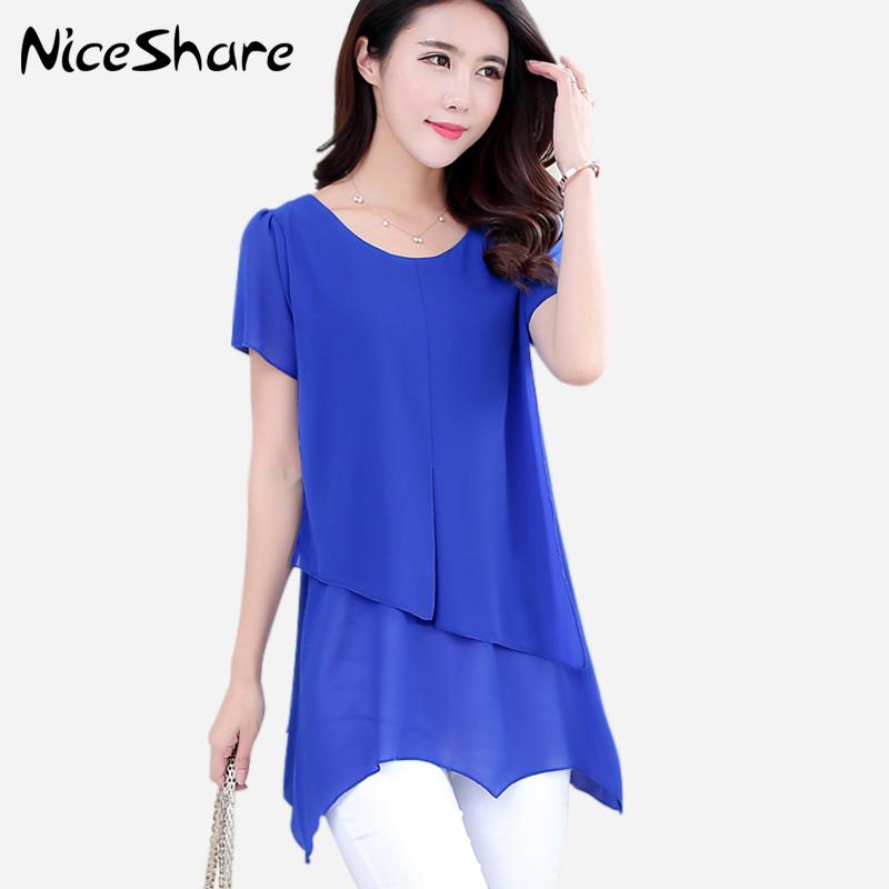 Chiffon Blouse Women Blouses 2015 Summer Style Blusa Feminina Chiffon Shirt White Blouse Woman Short Sleeve Ruffles Tops Casual(China (Mainland))