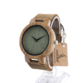 BOBO BIRD C18 Wood Watch Men quartz bamboo zebra watches luxury watch men brand bracelet wedding