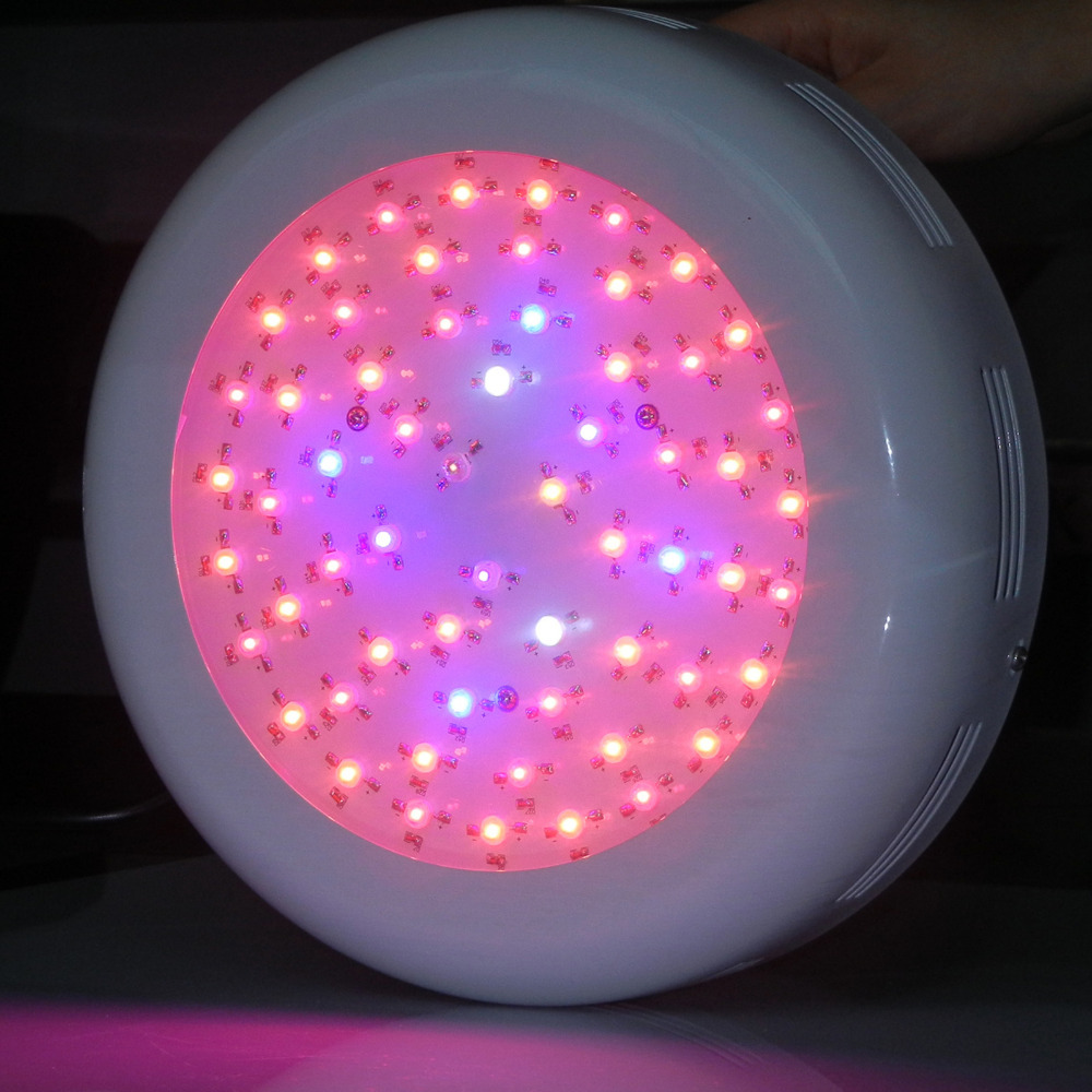 Clearance Sales Free Shipping Stocks in USA/Germany Warehouse 9 Bands 180W Full Spectrum UFO Led grow Light for Hydroponics(China (Mainland))