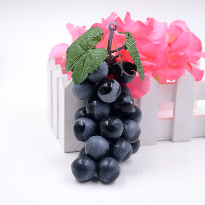 Artificial fruit grapes plastic fake decorative fruit for Artificial pears decoration