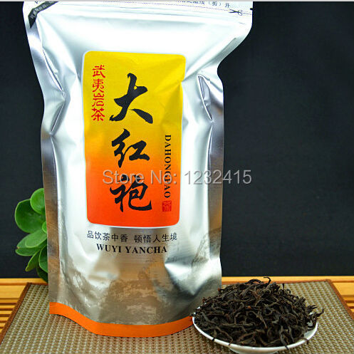 Top Grade Chinese Dahongpao Big Red Robe Oolong Tea The Original Wulong Tea China Healthy Care