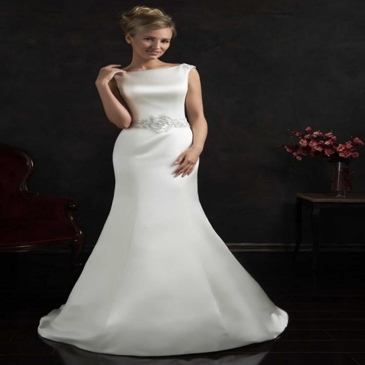 Affordable Mermaid Style Wedding Dresses : Aliexpress buy romantic cheap white mermaid style