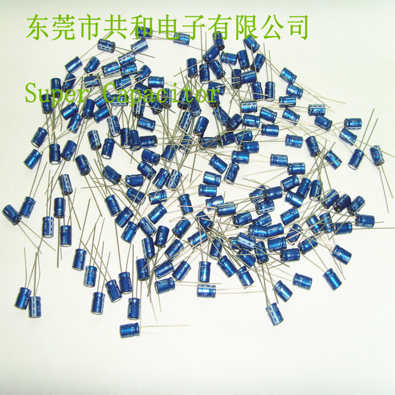 Free Shipping !! 2.7V 1f super capacitor small size 6.3*9mm(China (Mainland))