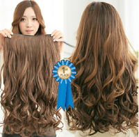 "24"" 100g Silky Curly Indian Clip in blended hair extensions ,curly 5 clips in one pieces for 3colors(#2,#2t30,#2t33)"
