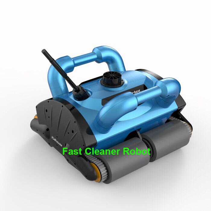 Remote Control Wall Climbing Function Automatic Swimming Pool Cleaner Robot 200 with Work Capacity for 200-400m2 Pool(China (Mainland))