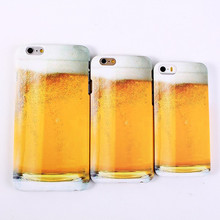 Free shipping New Style cute Beer mug Beer cup model Plastic material Cover Case for iPhone 5S 5 5C 5g phone shell CSJK0141(China (Mainland))