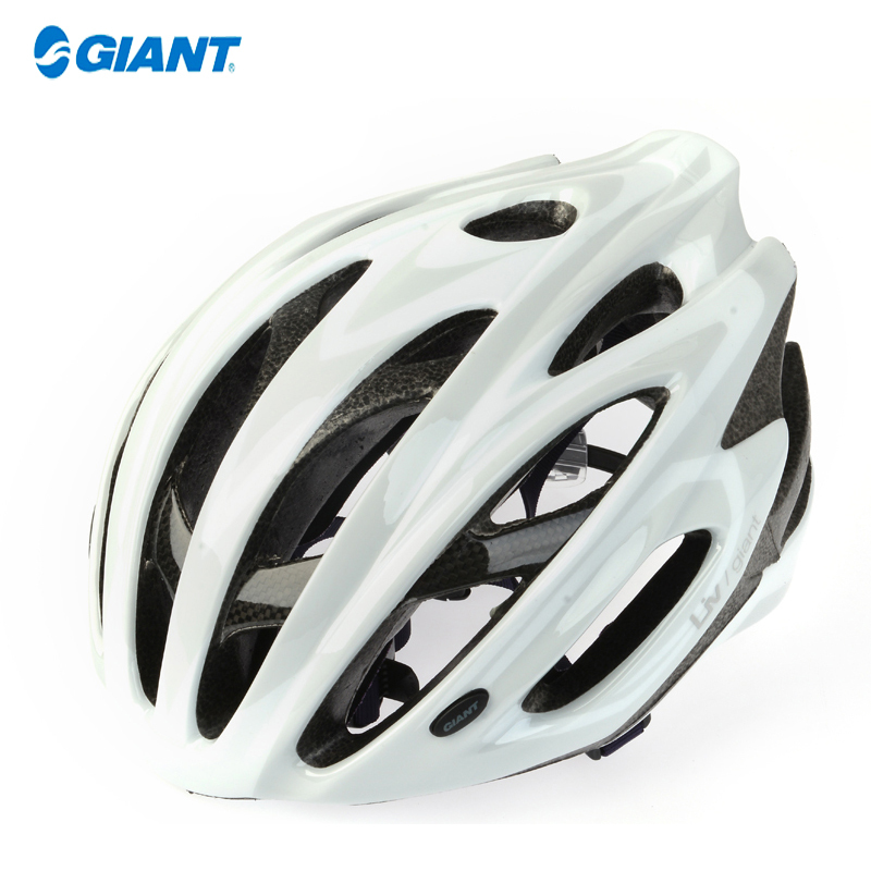 GIANT Sports Liv Women 22 Wind Vents In-Mold Visor CE Cycling MTB Road Bike Bicycle Safely Helmet -Ares,3Size S/M,M,L,White(China (Mainland))