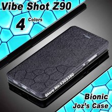 Buy lenovo vibe shot case cover leather luxury cube flip case lenovo Z90 case cover 4 style lenovo vibe shot z90 phone case for $5.66 in AliExpress store
