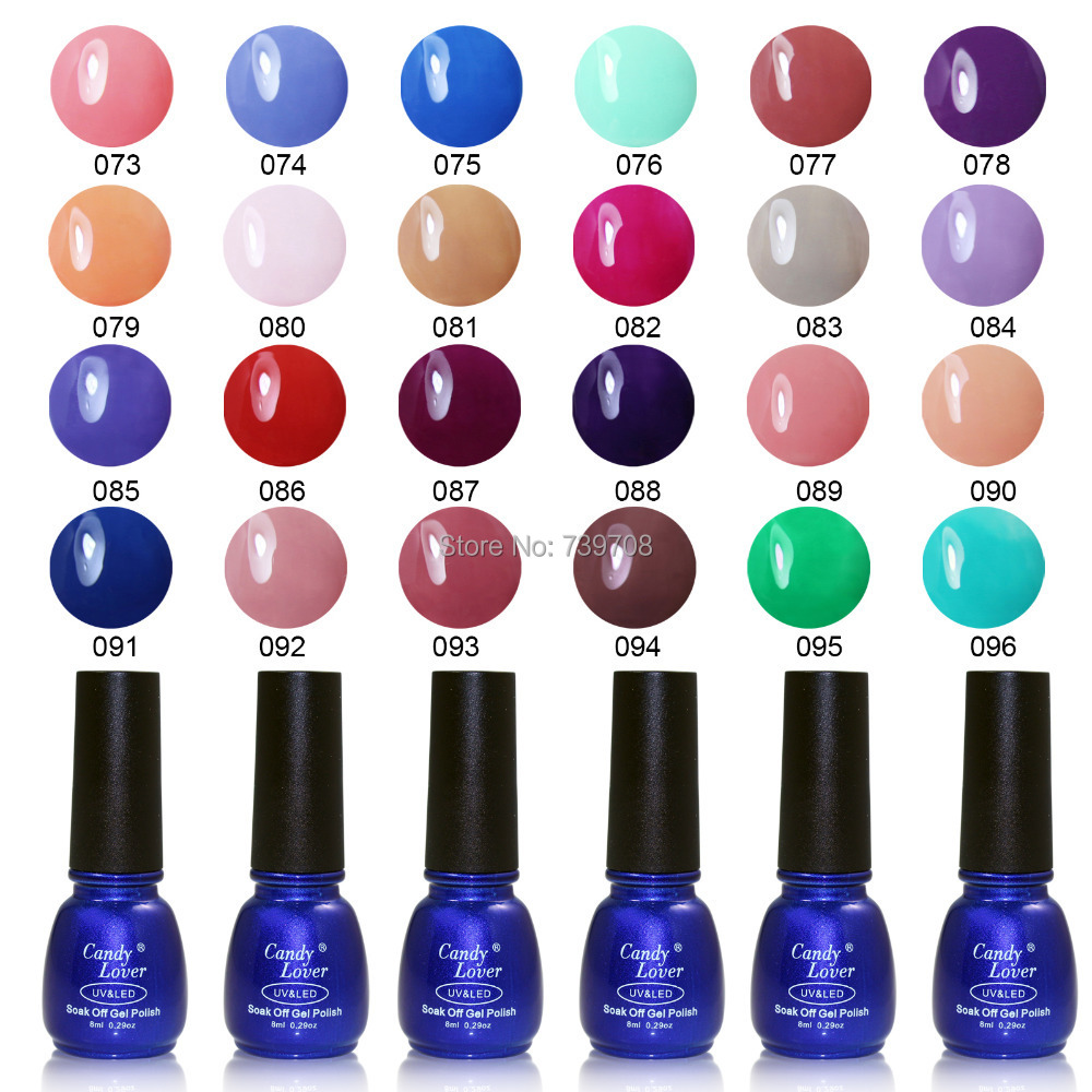 Gel Nail Polish Colors: Aliexpress.com : Buy Candy Lover Hot Selling Gel Nail