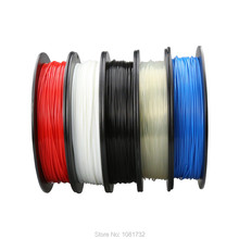 ABS 1.75mm 0.5Kg/spool Plastic Rod Rubber Ribbon Consumables Material Refills for MakerBot/RepRap/UP/Mendel 3D Printer Filaments