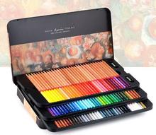 Marco Renoir fine art professional Oily Colored pencils 100 Color lapis de cor Painting pencil /Colored Pencil Tin Box(China (Mainland))