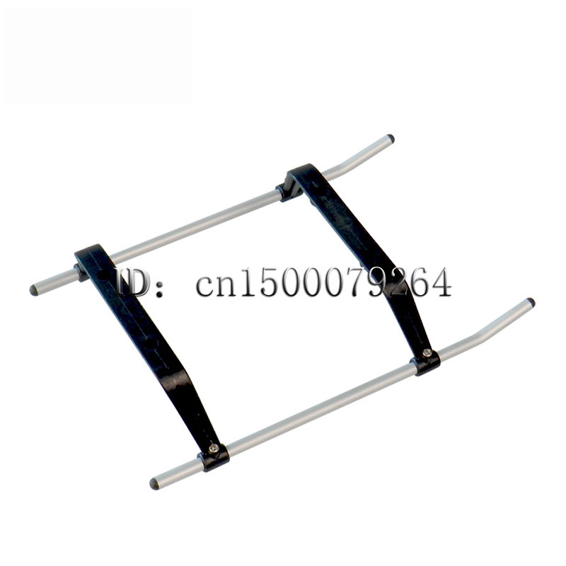 Free shipping + Wholesale! Syma S031g helicopter spare parts landing gear 2pcs/Lot S031 Metal Gyro RC Helicopter Parts Tee(China (Mainland))